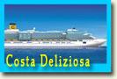 новогодние круизы по Средиземному морю на Costa Deliziosa