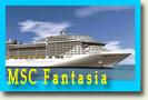 новогодние круизы по Средиземному морю на MSC Fantasia